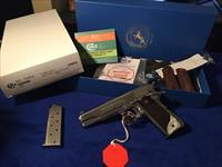 Gorgeous COLT 1911 series 70 BRIGHT STAINLESS mirrored finish NEW IN BOX Custom shop pearl grips