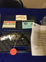 "RARE COLT ANACONDA 4"" .45 COLT MINT CONDITION COLLECTOR GRADE"