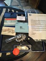 "Colt King Cobra 4"" Bright Stainless GORGEOUS mirror finish 100% MINT in box!"