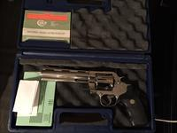 "Colt Anaconda .44 6"" barrel BRIGHT STAINLESS MIRRORED GORGEOUS NIB"