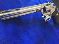 "RARE King Cobra 8"" barrel BSTS bright stainless finish mirrored GORGEOUS Colt"