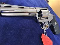"Gorgeous Colt Anaconda 6"" Bright Stainless Mirrored .44 magnum mirror like finish MINT BOX"