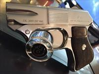 COP .357 four barrel derringer GORGEOUS Bright stainless MIRROR LIKE FINISH mirrored the matrix