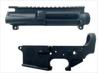 AR-15 RECEIVER SET - FORGED - STRIPPED - B&H ARMS
