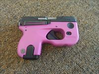 Taurus Curve Raspberry w/LASER-FLASHLIGHT -NO CC FEES- .380 sub compact pistol PINK
