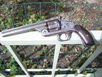 SMITH & WESSON MODEL 3, WELL USED