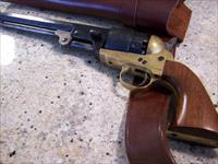 44 cap and ball revolver, looks unfired.