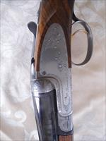 V. Bernardelli, Las Palomas Pigeon, 12 Gauge Double Barrel, Single gold trigger.