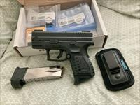 Springfield XD Sub Compact 9mm with Truglo TFO Sights and more.