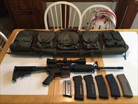 AR 15 Custom Build w/ Scope & Extras -  Mint Condition
