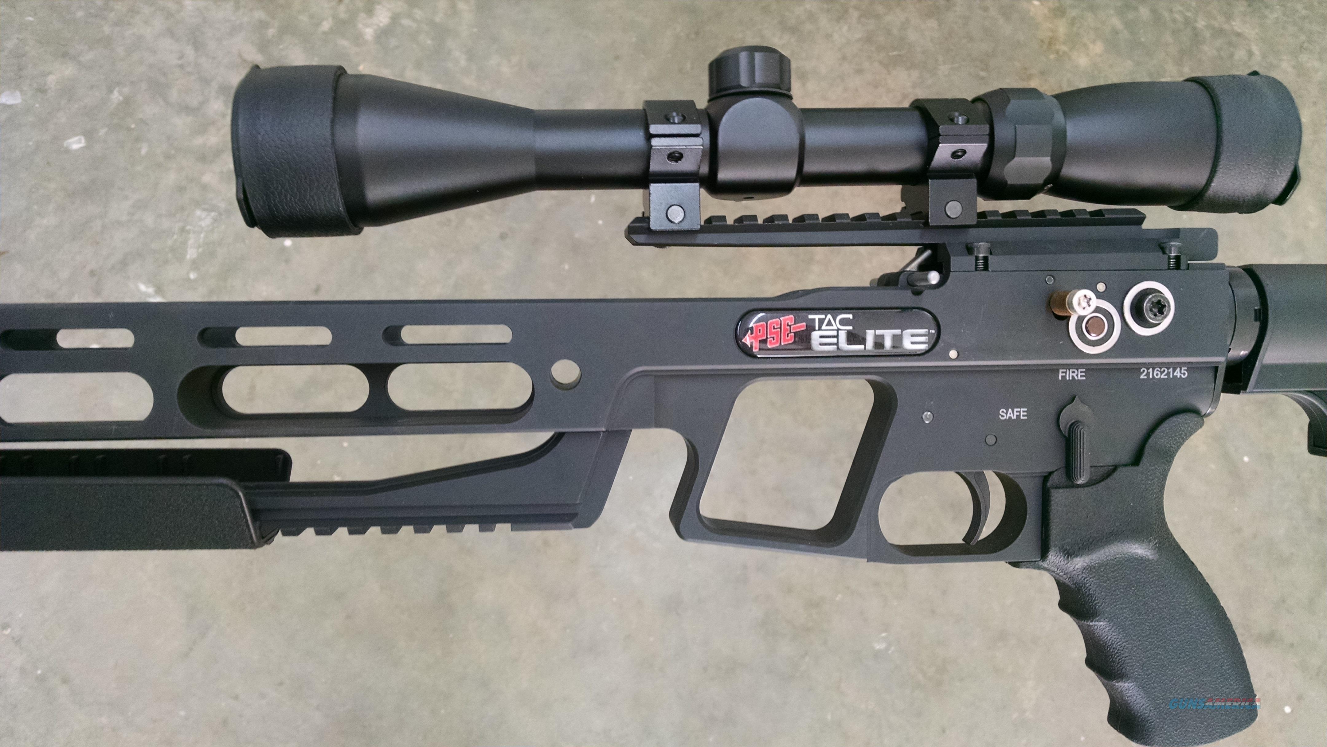 PSE TAC Elite Crossbow Package 2-7x 32mm Crossbow Scope Black