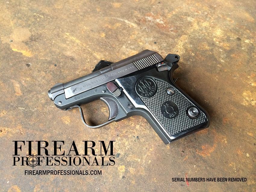 USED Beretta 950 Jetfire  25acp