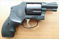 S&W .38 Special, Model 442, Airweight, +P, Black