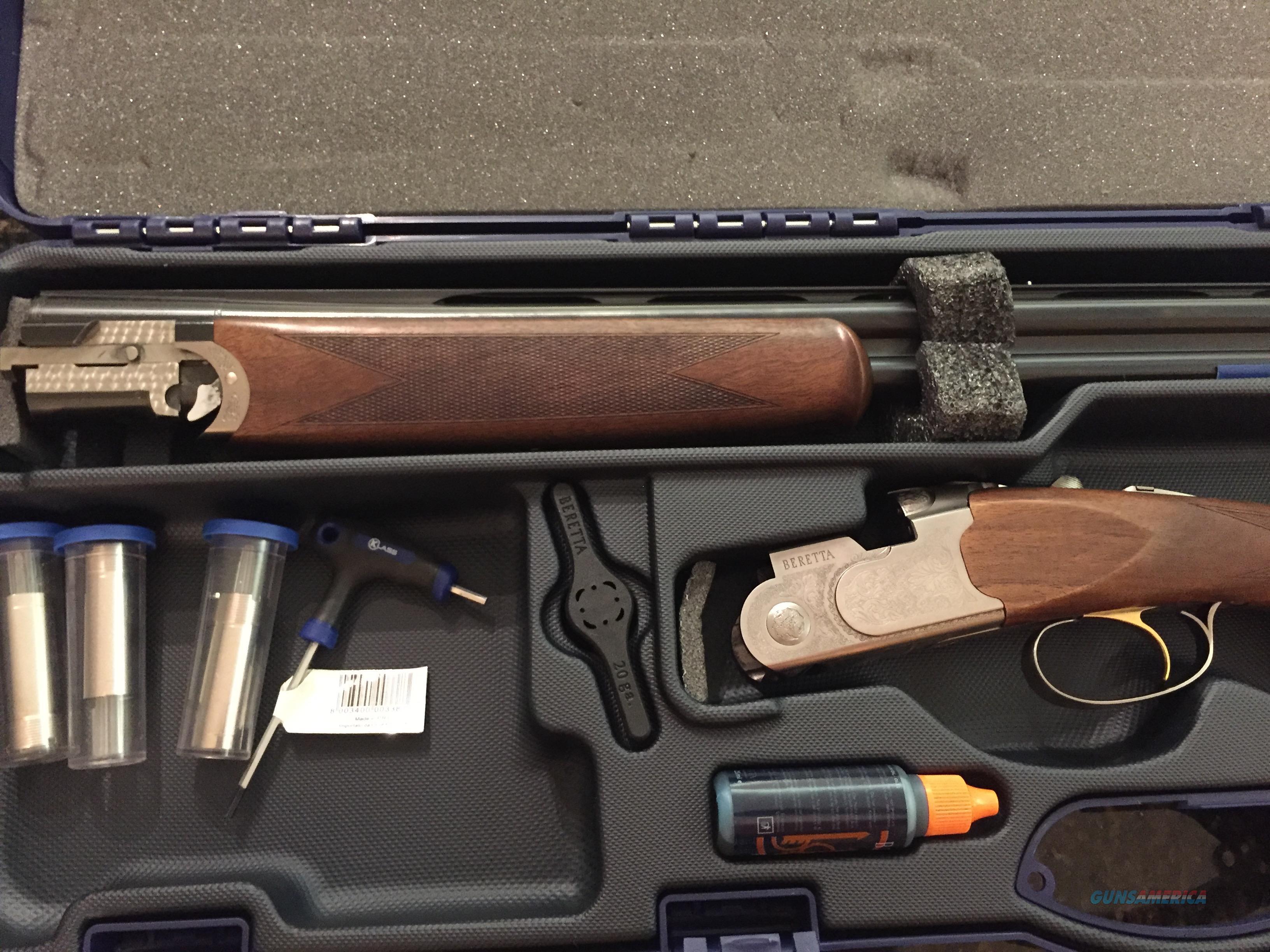 Beretta 686 Silver Pigeon 1 Sporting20 Gauge Guns Shotguns