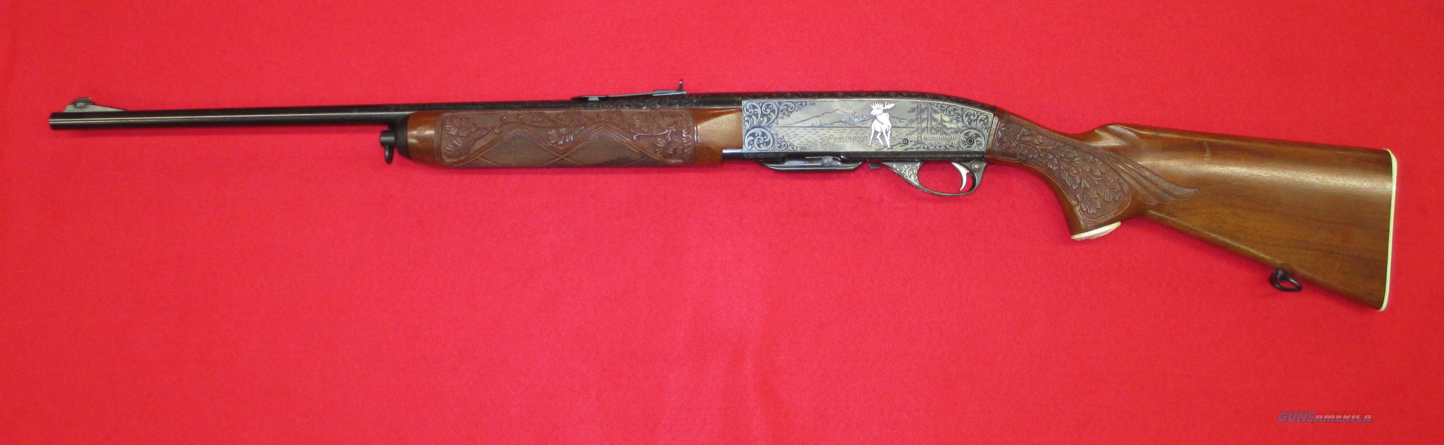Remington 740 Woodsmaster Engraved 30 06 For Sale