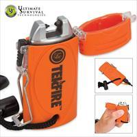 Ultimate Survival Tekfire Pro Fuel Free Lighter, Orange - 20-02197