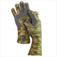 Fish Monkey Gloves Half Finger Guide Glove Green Water 2X
