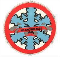 "Tuff No Snowflakes 3"" Patch"