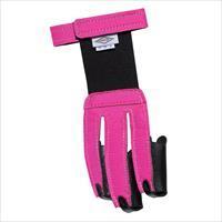 Neet Leather Nylon Womens Shooting Glove Neon Pink X Small 60060