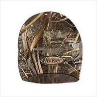 Avery Headwear Fleece Skull Cap Hat Max 5 Camo 48187
