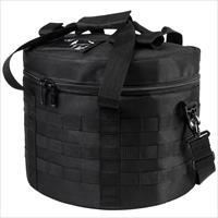 NcStar Vism Tactical Riot Molle Helmet Bag Black