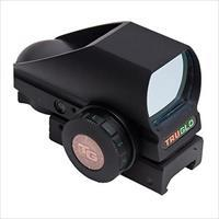 TruGlo Tactical Red-Dot Tru-Brite Open-Dot Mutli Reticle Black TG8380BN