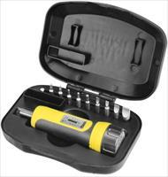 Wheeler Firearm Accurizing Torque FAT Wrench with 10 Piece Bit Set and Case