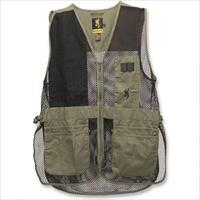 Browning Trapper Creek Shooting Vest Sage Black 3XL 3050265406