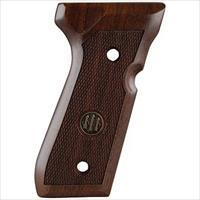 Beretta 92 96FS Checkered Wood Grips