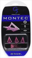 G5 Outdoors Montec Broadhead 85 Gr Pack of 3 Pink
