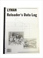 Lyman Reloader's Reloading Data Log Book - Softback - 9847261