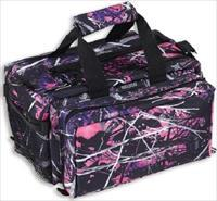 Bulldog Deluxe Muddy Girl Camo Range Bag w/ Strap