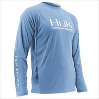 Huk Kryptek ICON 1//4 Zip Performance Fishing Shirt H1200007-IFO Inferno