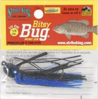 Strike King Bitsy Bug Mini Jig Black Blue