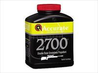 Accurate 2700 Reloading Powder 1 LB Canister 27001 NEW