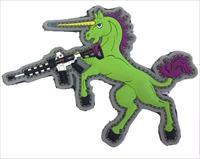 Tuff Tactical Unicorn Green Patch