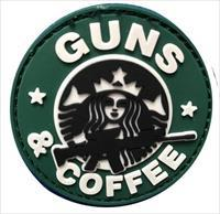 "Tuff Guns and Coffee 2.5"" PVC Patch"