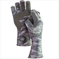 Fish Monkey Gloves Half Finger Guide Glove Grey Water 2X