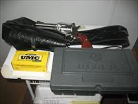 Ruger, single action, .357, stainless, w/holster, full box shells, orig. box