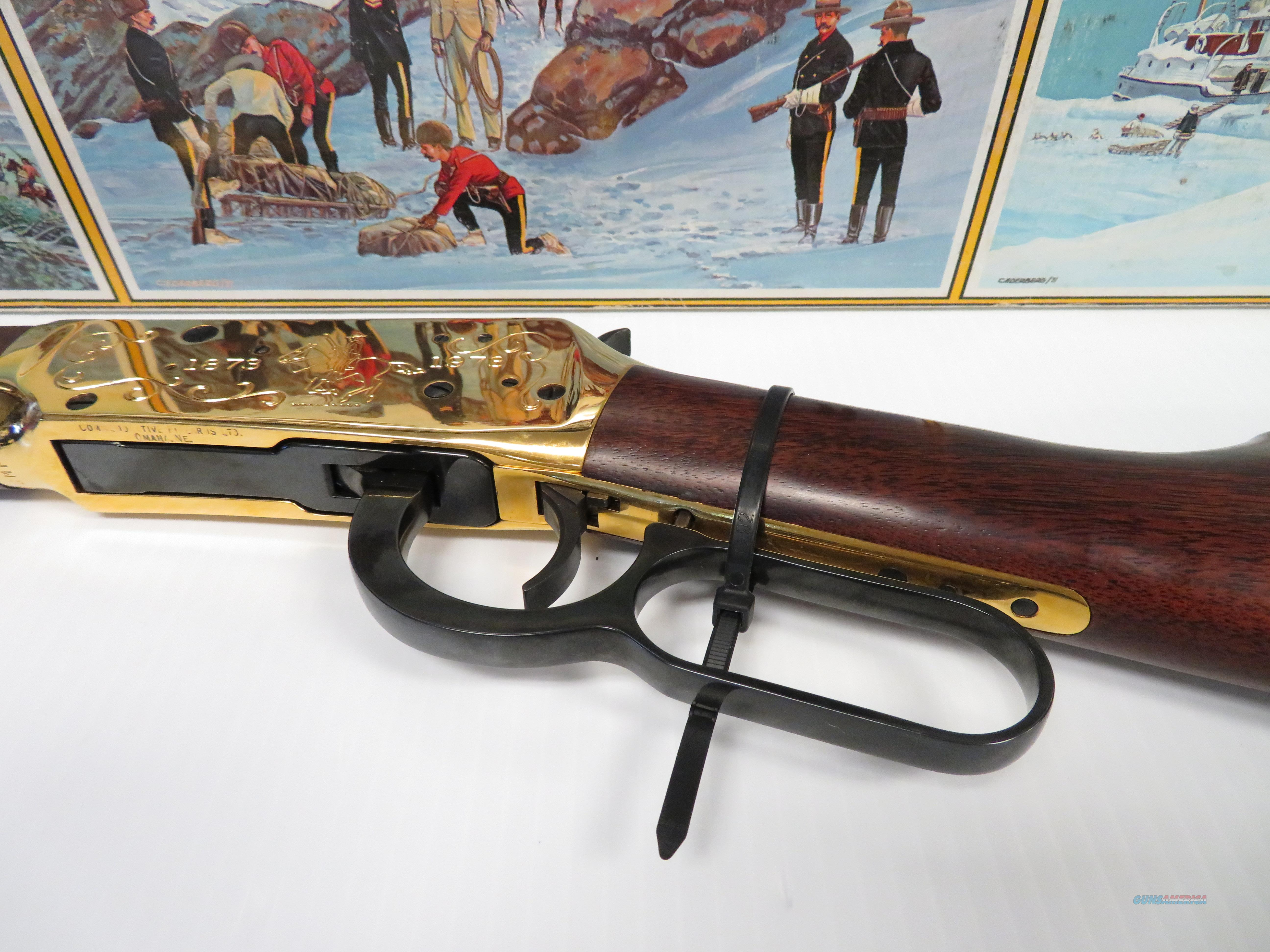 Winchester R C M P  Centennial Rifle 30-30 Model 94 Lever Action Rifle  G9464 22