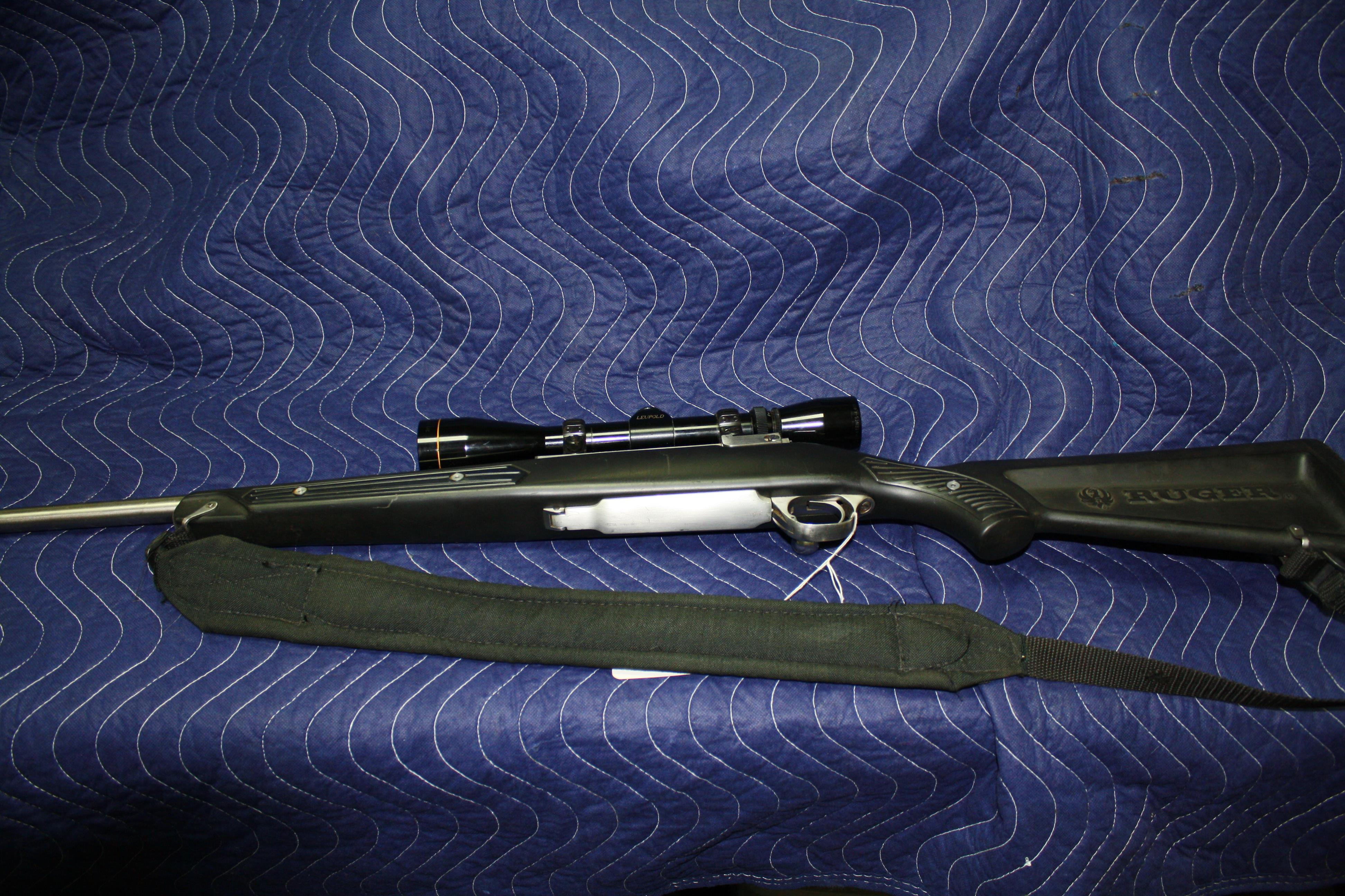 Ruger M77 Mark Ii Stainless 270 W Leupold 3x9 V For Sale