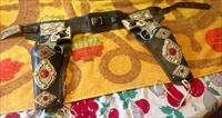 Great old Lone Ranger holster and toy pistol set