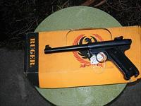 ruger MKII 22 target like new
