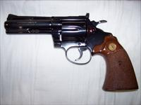 "Colt Diamondback 4"" Blued Revolver .38sp"