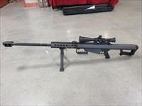 BARRETT 82A1 WITH SCOPE AND AMMO