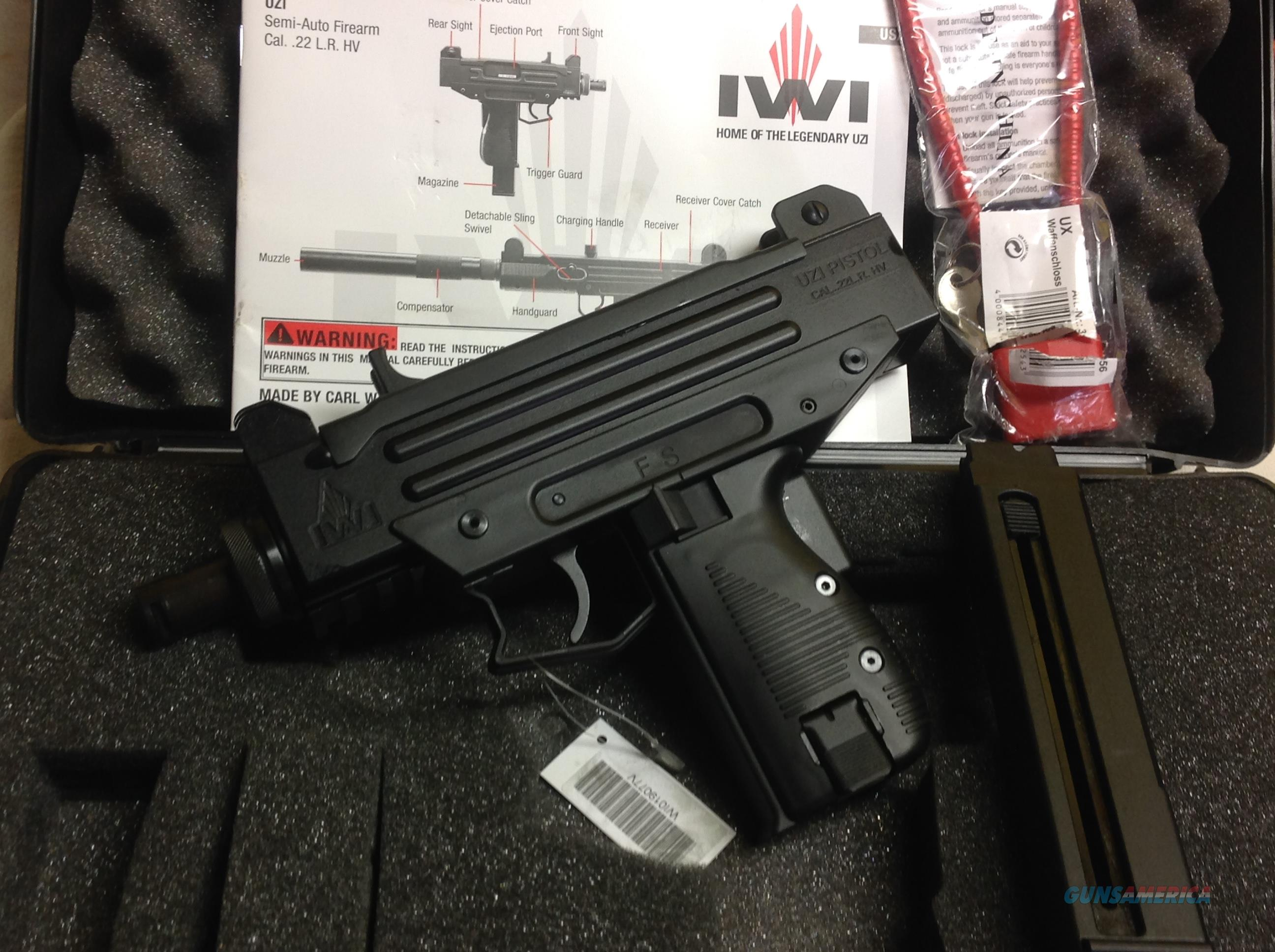 UZI Pistol in  22 LR by IWI, New in Box, Only Genuine Tactical Rimfire
