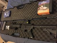 $1300 give away. M-16 modified with all parts. price icludes holographic scope, long range laser finder, tactical stand and flashlight. 3 3xtended clips and 1000 rounds of amo