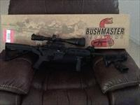 Bushmaster AR15 M4 with slide fire and scope