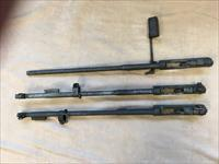 M1 Carbine WW2 Three Receivers and Barrels