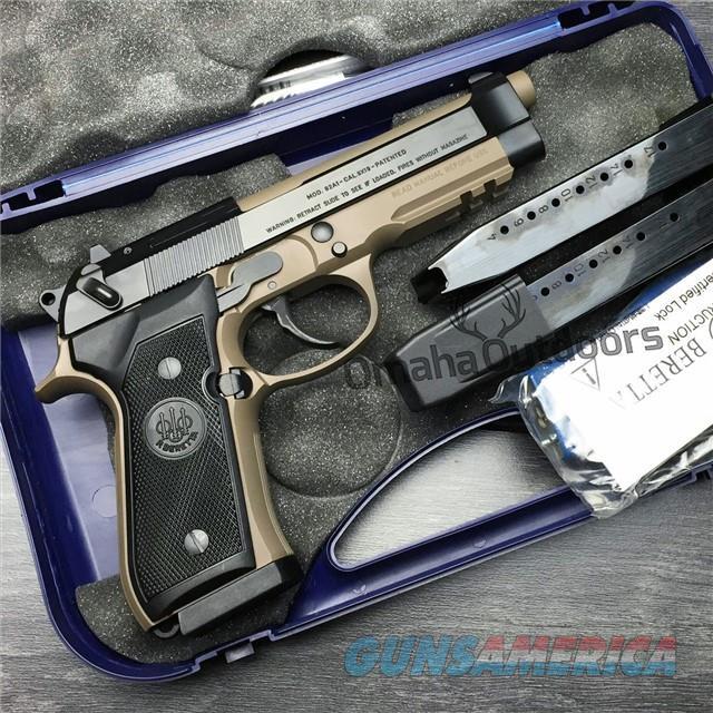 Beretta 92A1 92 A1 FDE Tan 9mm 92FS 92 M9 J9A9F10